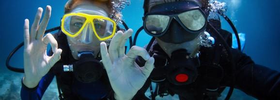 Mergulho de Batismo (Discovery Scuba Diver)