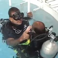 Rio Boat Show 2008 – Tanque de mergulho