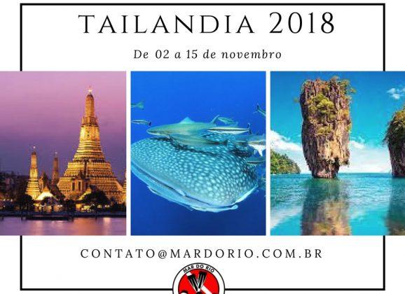 TAILÂNDIA 2 A 15 DE NOVEMBRO DE 2018